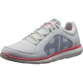 Helly Hansen Ahiga V3 Hydropower Zapatillas Mujer, off white/slight pink/blue tint
